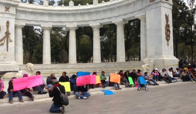 Las manifestaciones de la CNTE no cesan