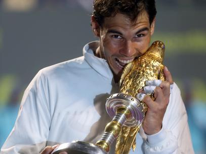 Rafael Nadal gana el torneo de Doha