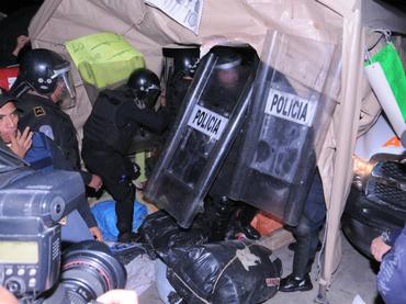 Desalojo de CNTE responde a reclamo de capitalinos