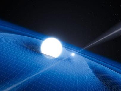 Un trío de estrellas pone a prueba la teoría de la relatividad