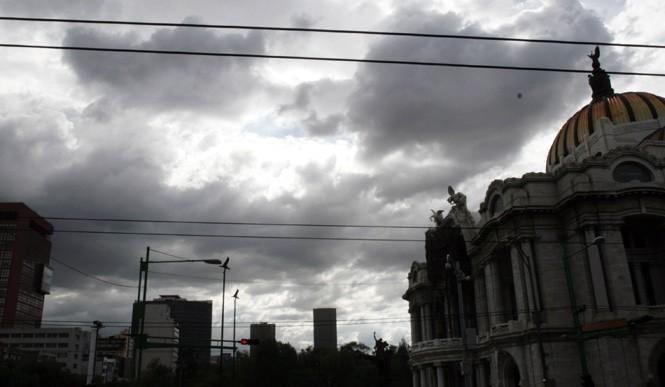 Prevén lluvias y nevadas en el Valle de México
