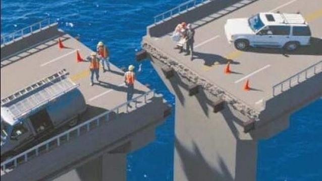 El puente mal hecho de Chile