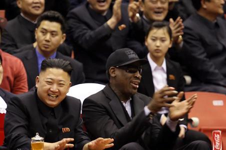 Rodman canta «Cumpleaños feliz» a líder norcoreano