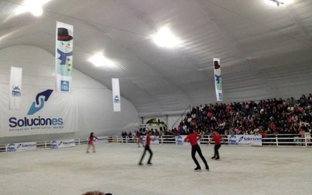 Clausuran pista de hielo en Benito Juárez