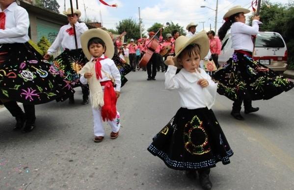 Encuentro de Danza de los Arrieros en Huixquilucan