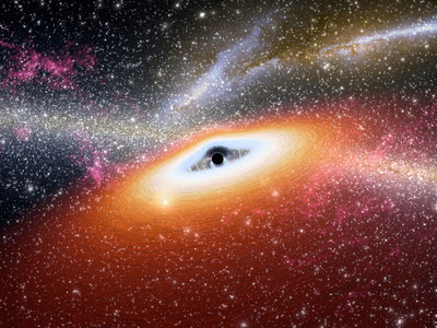Un agujero negro se tragará una enorma nube de gas para que todos vean