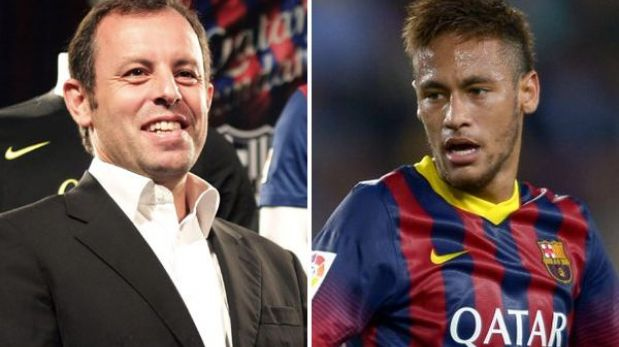 Denuncian a presidente del club Barcelona