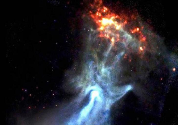 Descubre la NASA «La Mano de Dios»
