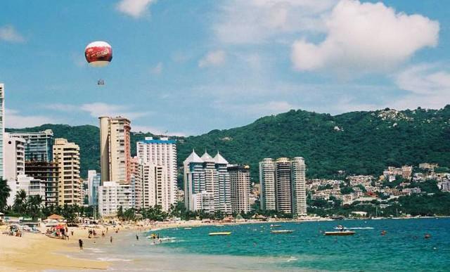 Droga y armas en Acapulco