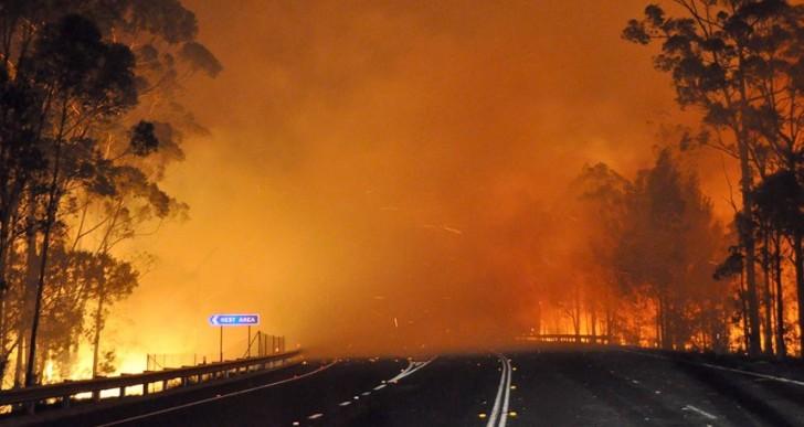Incendio en Australia tan intenso que esta creando su propio clima