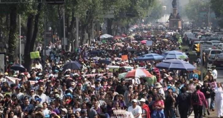 CNTE marchará esta tarde en el Distrito Federal