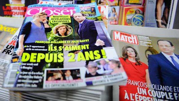 Actriz demanda a revista que reveló su romance con presidente de Francia