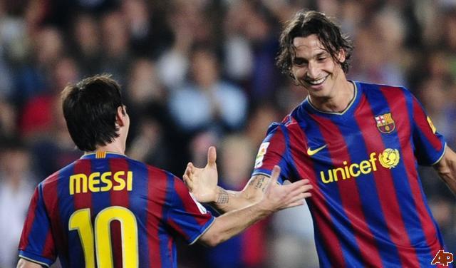 «Messi hace cosas que sólo se logran en los videojuegos»: Ibrahimovic