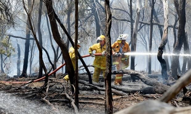 Los incendios en California parecen estar bajo control