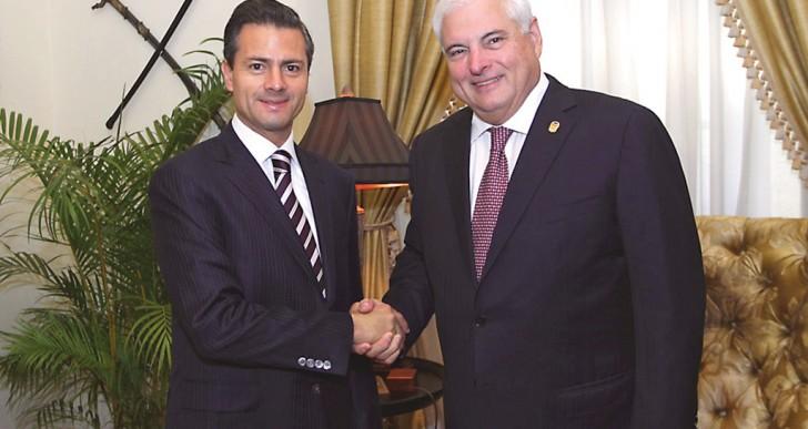 Quiere Martinelli acelerar tratado de libre comercio con México