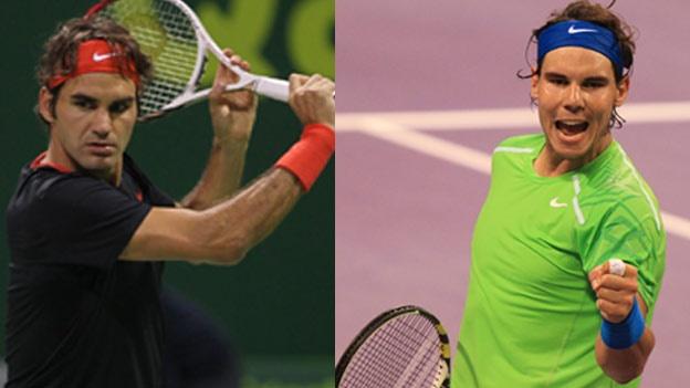 Nadal y Federer medirán talentos en semifinal del Abierto de Australia