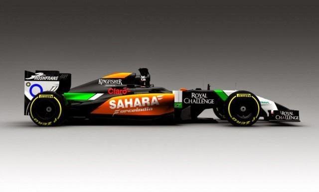 Force India enseña su nuevo coche, el VJM07