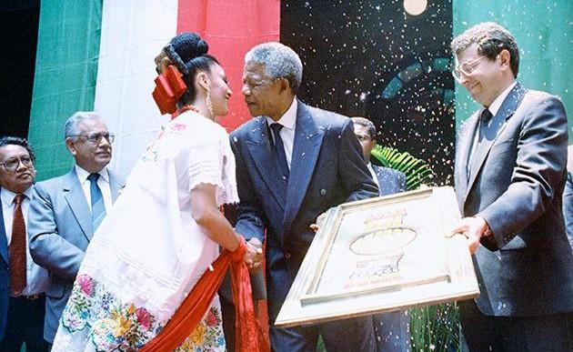 Rendirán homenaje a Nelson Mandela en la Biblioteca Vasconcelos