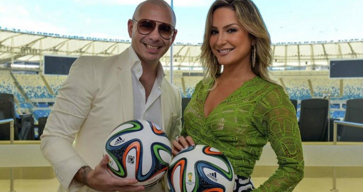 Pitbull, Jennifer López y Claudia Leitte harán la canción del Mundial Brasil 2014