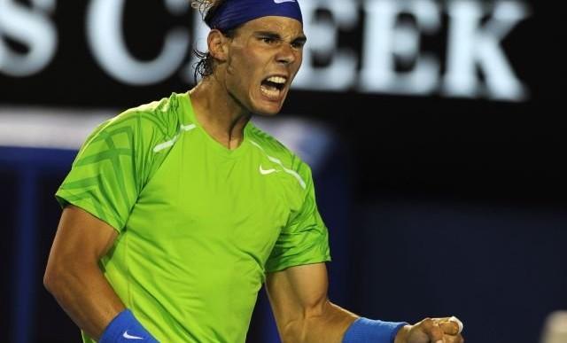 Vence Nadal a Federer en el Abierto de Australia