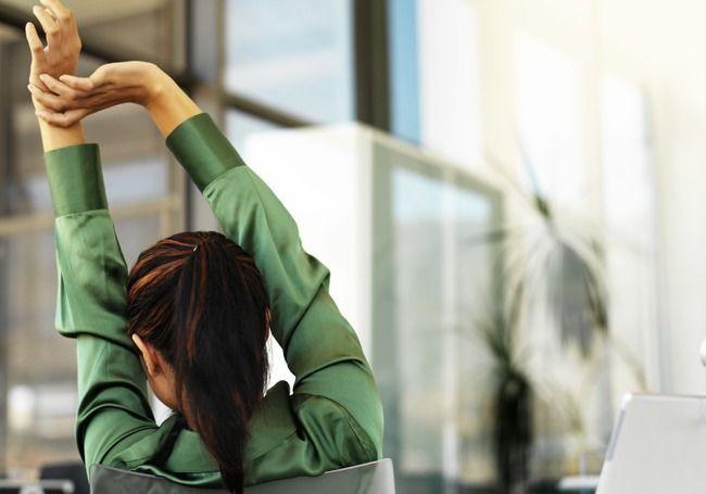 Ejercicios para quitar el sueño en el trabajo