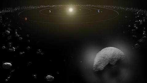 Ceres, el planeta que lanza chorros de vapor
