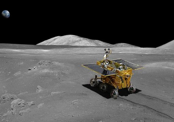 El explorador lunar chino se encuentra con un problema