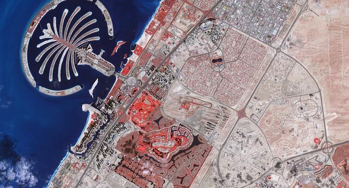 El Mundo artificial creado en Dubai se está hundiendo
