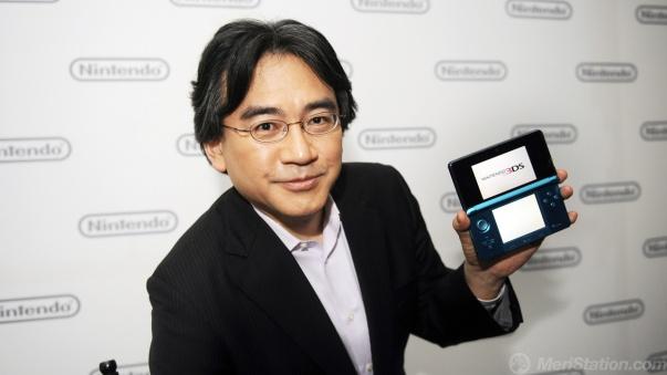 Presidente de Nintendo reduce salario a la mitad