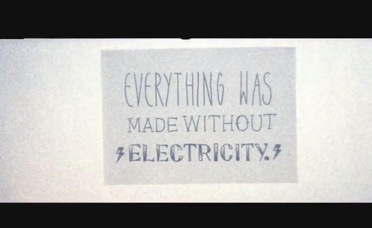 Proceso de diseño sin usar energía eléctrica