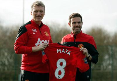 Mata, con mira en Brasil va al Manchester United