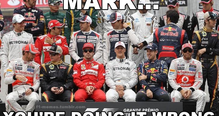 En el Pit Lane: Los mejores memes de la F1
