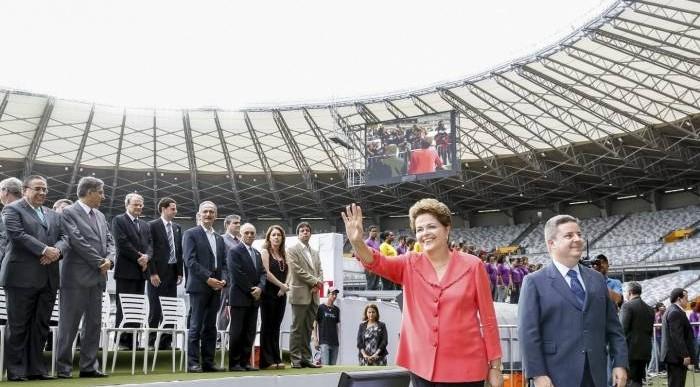 Garantiza Rousseff seguridad durante Mundial de Futbol