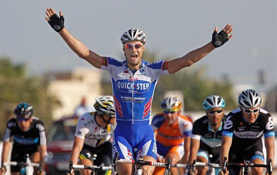 Gana Tom Boonen segunda etapa del Tour de Qatar