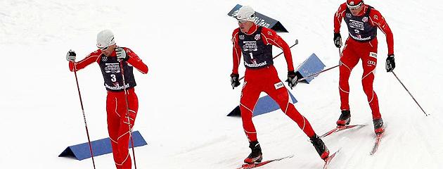 Equipo noruego gana combinada nórdica en Sochi