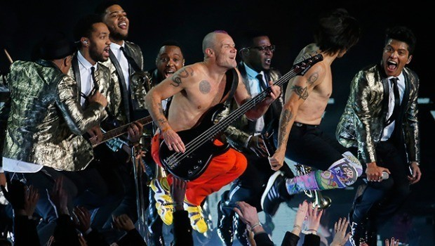 Bruno Mars y Red Hot Chili Peppers en el Súper Bowl