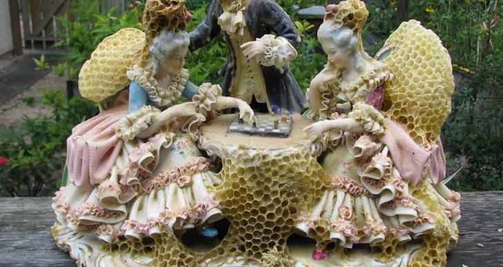 En colaboración con las abejas