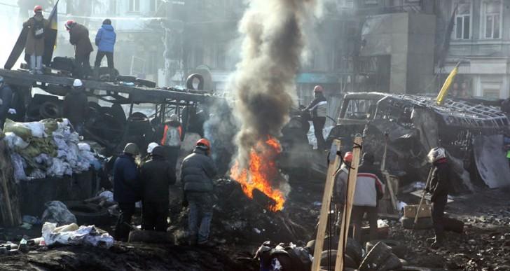Disminuye calificación de crédito en Ucrania por violencia