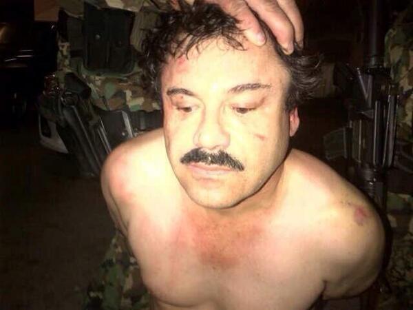 "Confirma EUA captura de Joaquín ""El Chapo"" Guzmán"