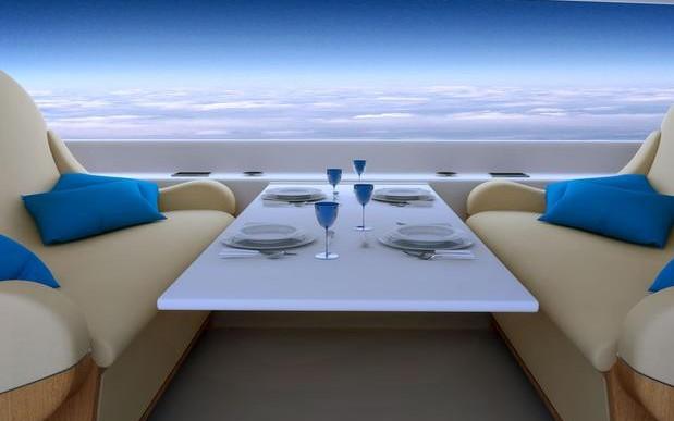 Un avión sin ventanas ¿diseño futurista o pesadilla aérea?