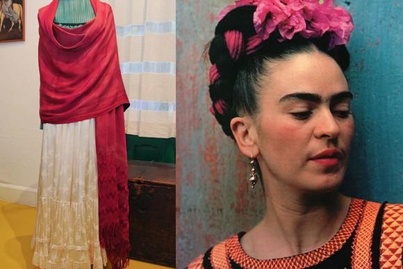 Vestidos de Kahlo se quedan un año más en museo