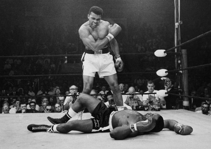 Mítica pelea Alí vs Liston