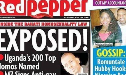 Gays en Uganda en peligro tras publicación de lista