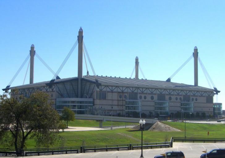 El histórico Estadio Alamodome