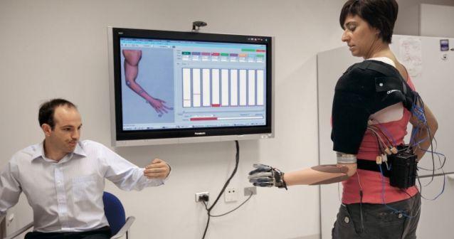 Un brazo virtual para aliviar el dolor fantasma