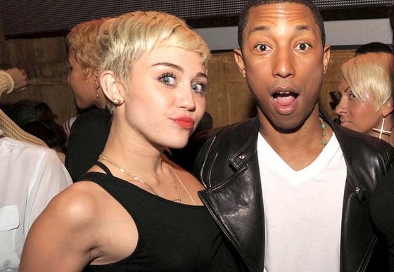 Así suena la colaboración entre Miley Cyrus y Pharrell Williams