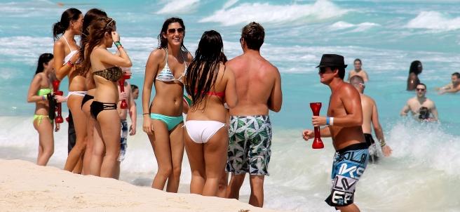Son seguras las playas mexicanas