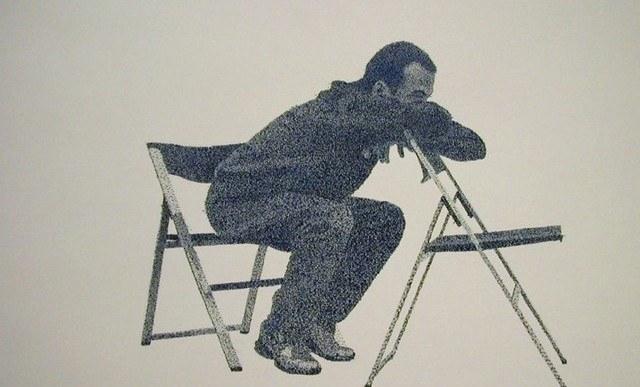 Este artista reinventó el uso de los simples sellos de goma