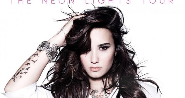 Demi Lovato vendrá a México con su «Neon lights tour»