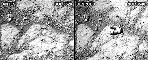 Demandan a la NASA por no investigar una piedra